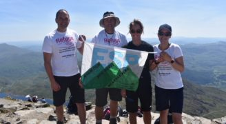 Reaching new heights: how a team from HMP East Sutton Park took on Three Peaks and raised £3,000!